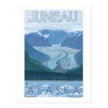 Glacier Scene - Juneau, Alaska Post Card