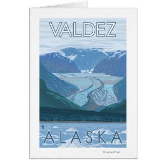 Glacier Scene - Valdez, Alaska Cards