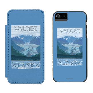 Glacier Scene - Valdez, Alaska Incipio Watson™ iPhone 5 Wallet Case