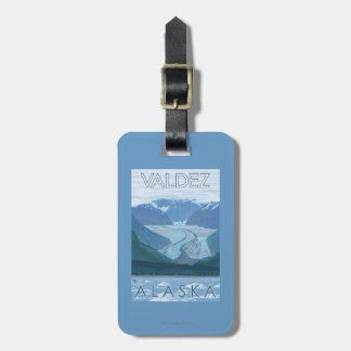 Glacier Scene - Valdez, Alaska Luggage Tags