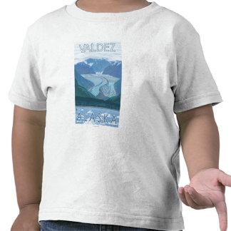 Glacier Scene - Valdez, Alaska Tees