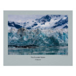 Glacier Series - Hubbard 272 Posters