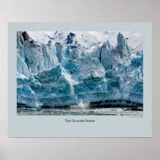 Glacier Series - Hubbard 527 Poster