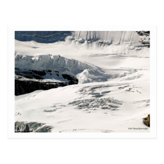 Glacier Snow Post Card