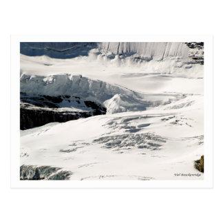 Glacier Snow Post Card