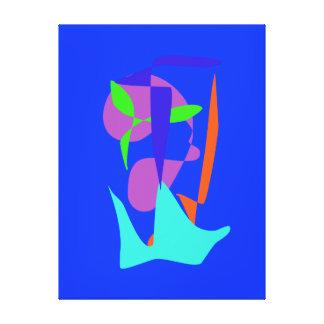 Glacier Stretched Canvas Prints
