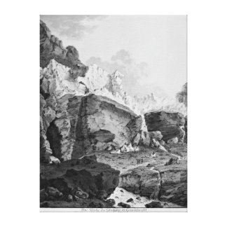 Glaciers of Grindelwald Canvas Print