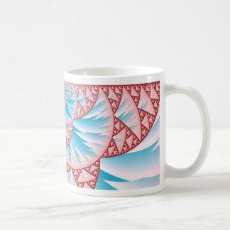 glaciers on the beach coffee mug