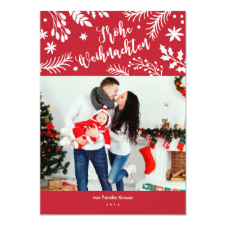 Glad Christmas branch out Card