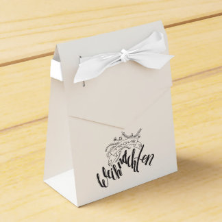 Glad Christmas - hand Latvian ring Favour Box