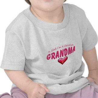 Glad Im Christian Grandma Shirt