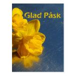 Glad Påsk Hälsningskort Postkarten