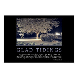 Glad Tidings Poster