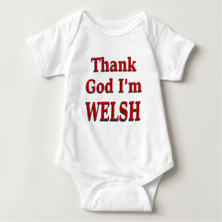 glad to be welsh baby baby bodysuit