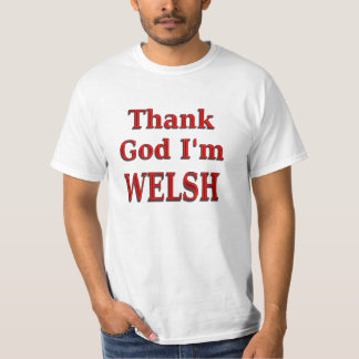 glad to be Welsh T-Shirt