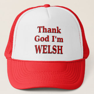 Glad to be Welsh Trucker Hat