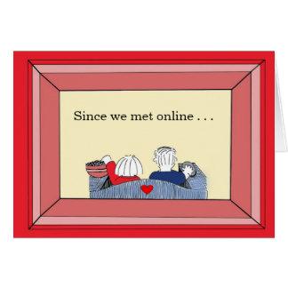 Glad We Met (online) - Valentine Card