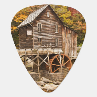 Glade Creek Grist Mill, Babcock State Park, 2 Guitar Pick