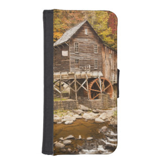 Glade Creek Grist Mill, Babcock State Park, 2 iPhone SE/5/5s Wallet Case
