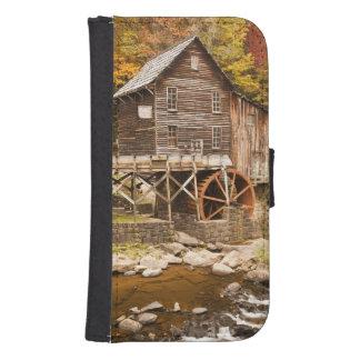 Glade Creek Grist Mill, Babcock State Park, 2 Samsung S4 Wallet Case
