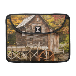 Glade Creek Grist Mill, Babcock State Park, 2 Sleeve For MacBooks