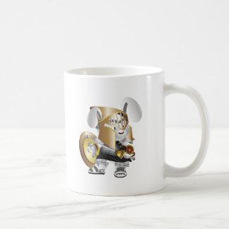 Gladiator Bunny Basic White Mug
