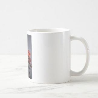 Gladioli Classic White Coffee Mug