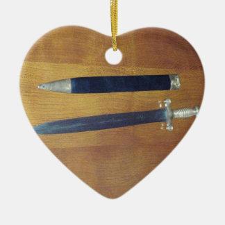 Gladius Pattern Sword Christmas Ornament