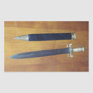 Gladius Pattern Sword Stickers