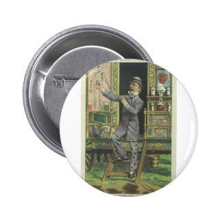 Gladstone the Quack 6 Cm Round Badge