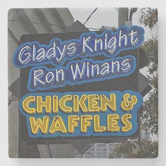 Gladys Knight Chicken & Waffles, Atlanta Coaster Stone Beverage Coaster
