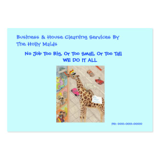 Gladys The Bedbug Maid Pack Of Chubby Business Cards