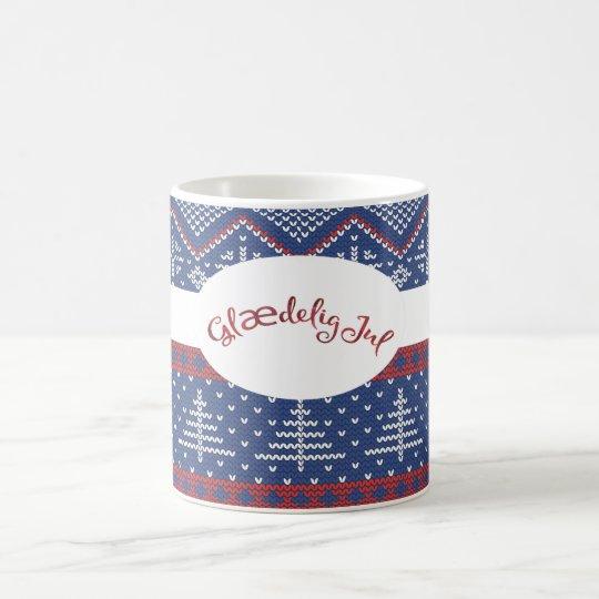 Glaedelig Jul Christmas Sweater Knit Coffee Mug