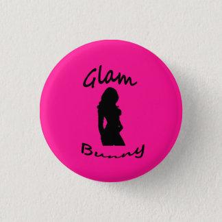 Glam Bunny Logo Pin