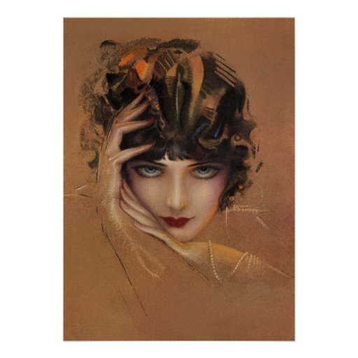 Glam by rolf armstrong print