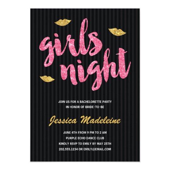 Glam Girls Night   Glitter Look Bachelorette Party