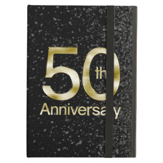 Glam Gold 50th Anniversary Case For iPad Air