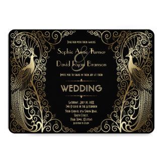 Old hollywood wedding invitations uk