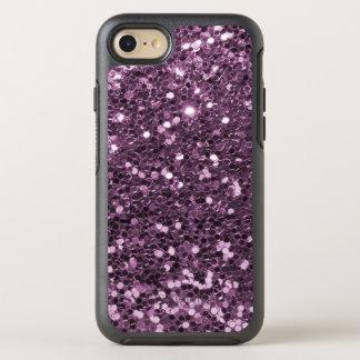 Glam Lavender Faux Glitter Purple Print OtterBox Symmetry iPhone 8/7 Case