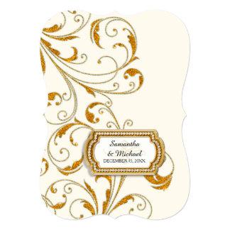 Glam Old Hollywood Regency Black Tie Event Style Custom Invitation