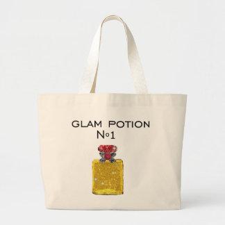 Glam potion tote bag