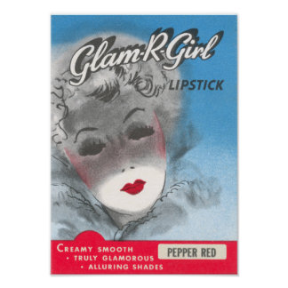 Glam R Girl Poster