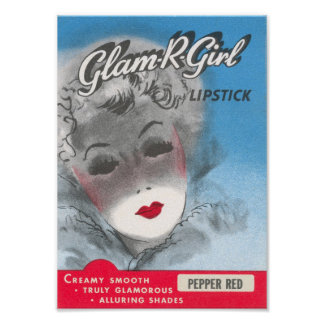 Glam-R-Girl Poster