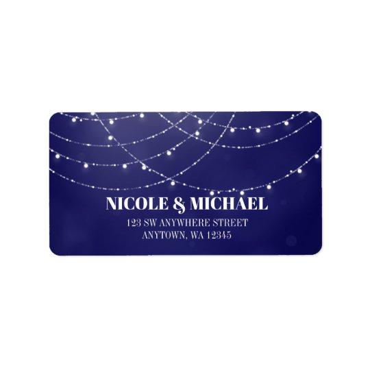 Glam White Fairy Lights Blue Label