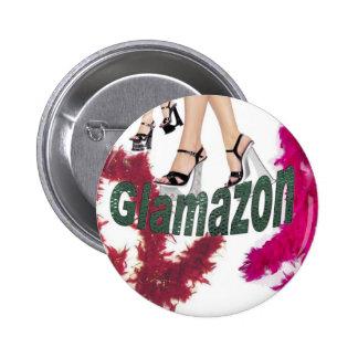 Glamazon 6 Cm Round Badge