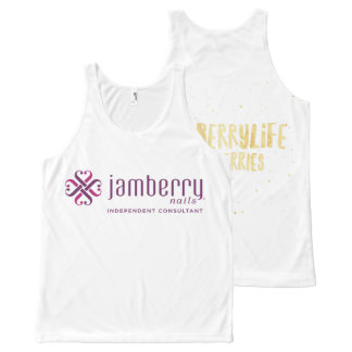 Glamberry design All-Over print tank top