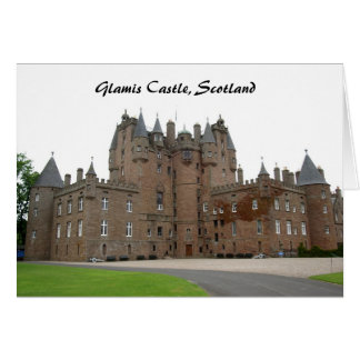Glamis Castle Card