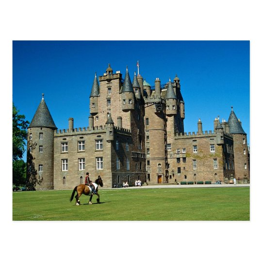 Glamis Castle, Scotland Postcard