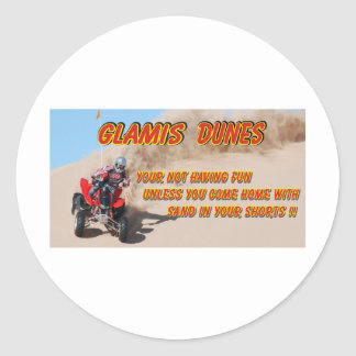 GLAMIS DUNES STICKERS