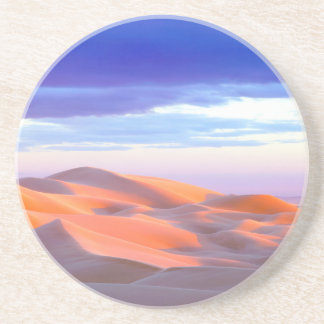 Glamis Sand Dunes at sunset Coaster